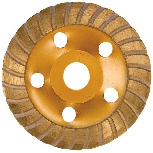 Image of Disc oala diamantat de slefuit beton si piatra 115 mm