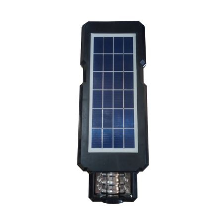 Lampa stradala LED cu telecomanda si panou solar 60 W AT-8600 pret