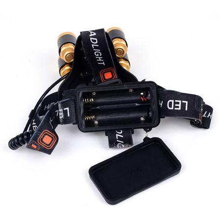 Image of Lanterna frontala 2000 Lumeni 5 LED-URI
