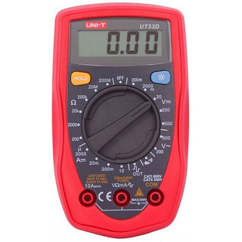 Multimetru UT33D digital cu 4 functii pret