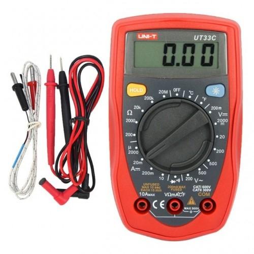 Image of Multimetru UT33C digital pentru testare diode