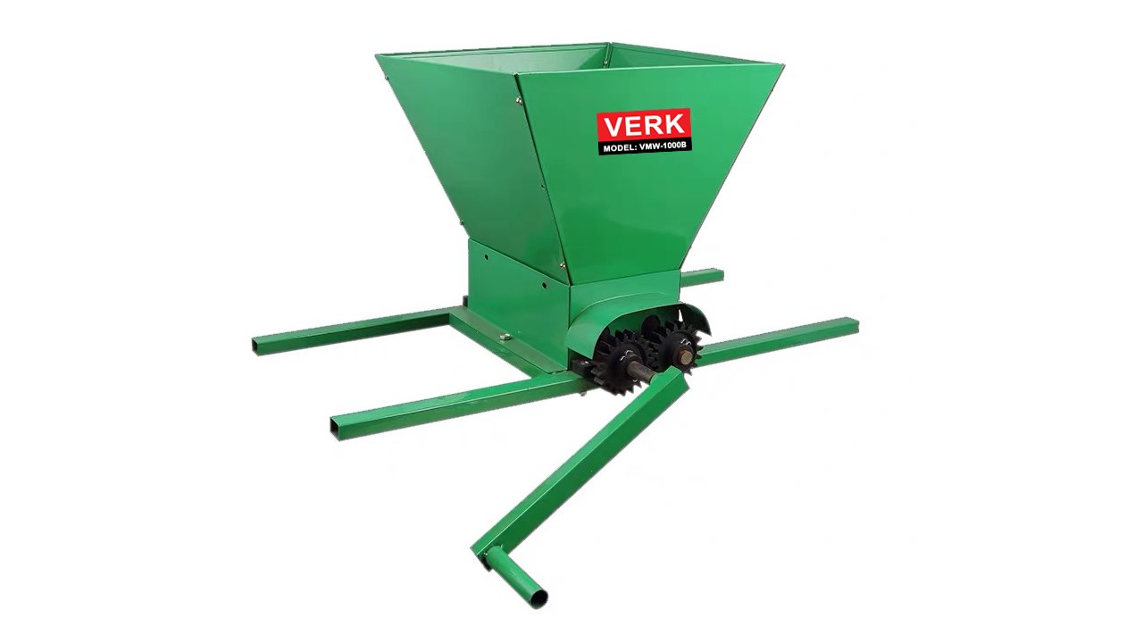 Masina manuala de zdrobit struguri Verk VMW-1000B pret